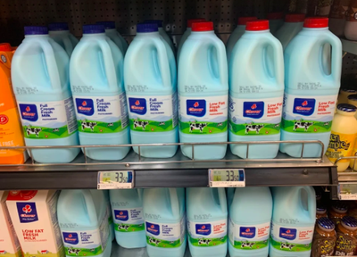 Wondering Why Clover Milk Now Comes In Blue Bottles? photo