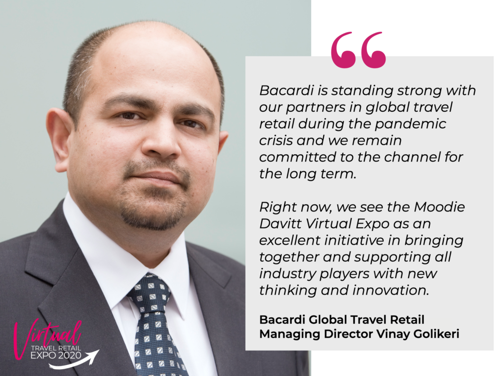 Digital Focus Is Crucial To The Future Says Bacardi Global Travel Retail As It Becomes Platinum Partner At Virtual Travel Retail Expo photo