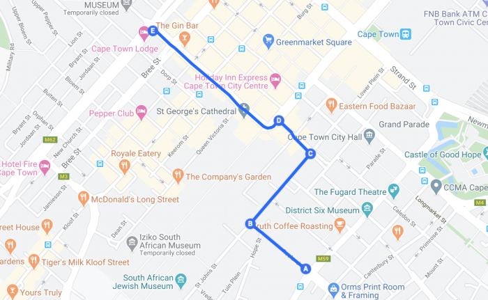 ServeUsPlease route 1 700x431 #ServeUsPlease Movement To Hold Peaceful Protest On Friday 24 July To Oppose Alcohol Ban In South Africa