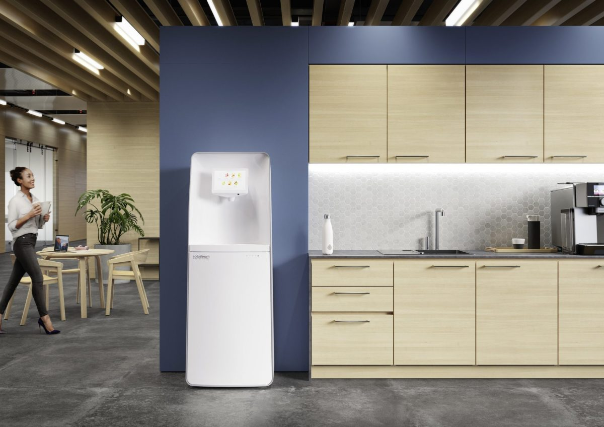 Pepsico Launches New Sodastream Professional Connected Sparkling Water System For Offices photo