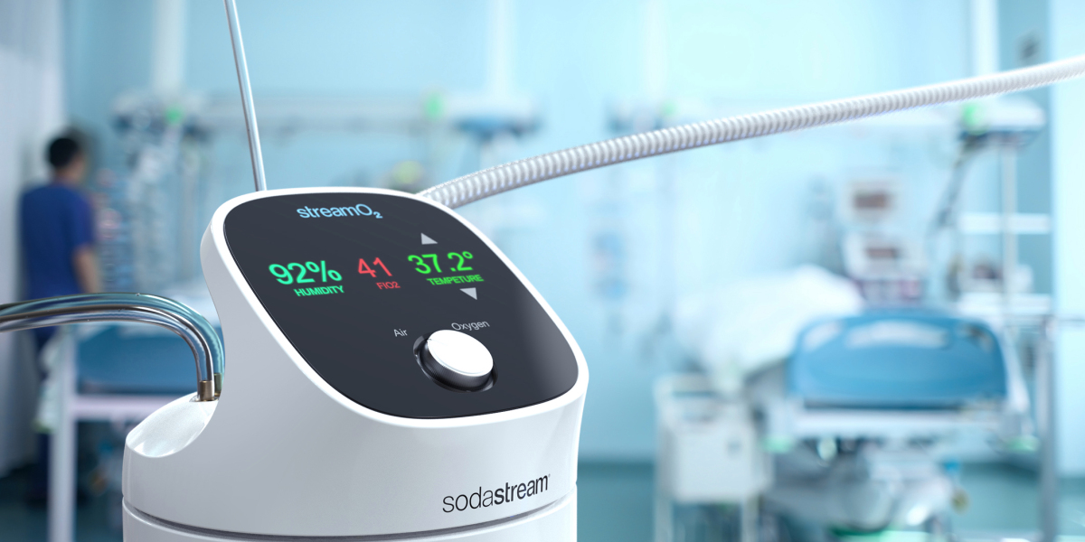 Can A Seltzer-making Company Build A Better Device To Help Covid Patients Breathe? Sodastream Thinks So photo