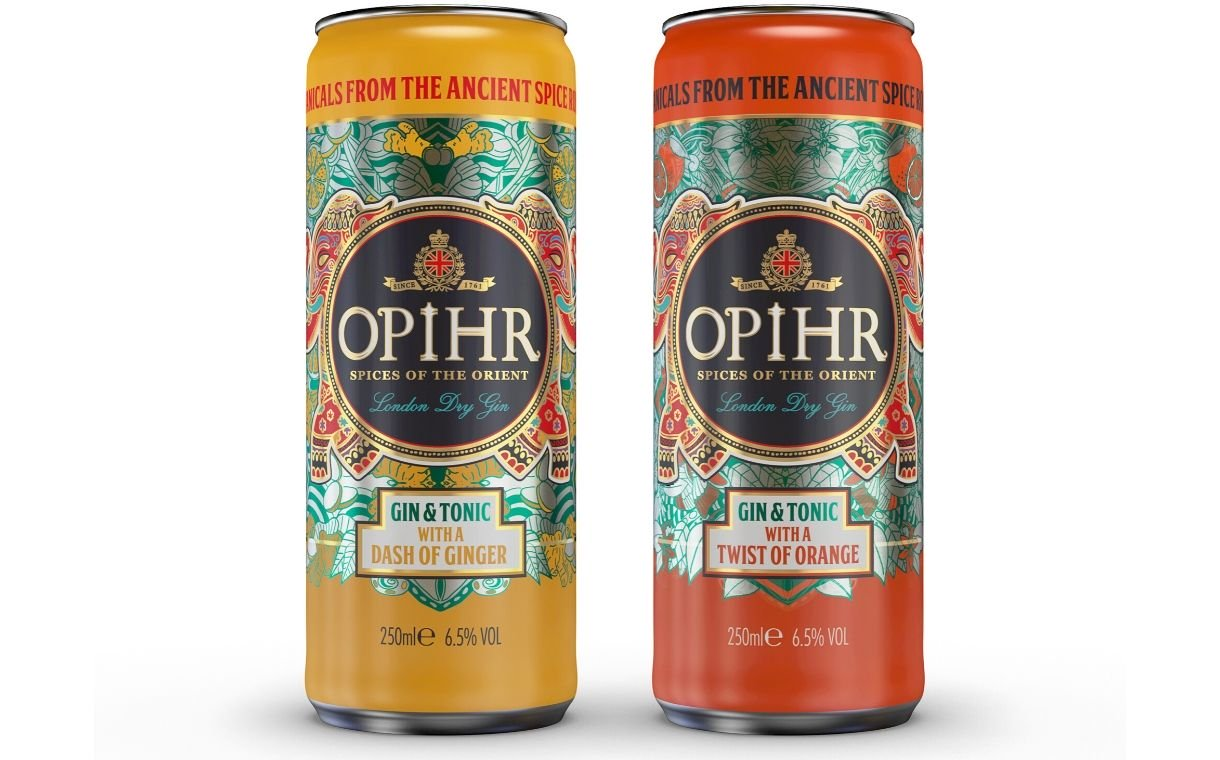 Opihr Gin To Launch Ready-to-drink Canned Format photo