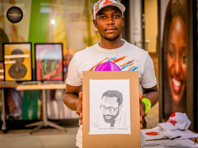 North Artist Pays Tribute To Icons photo