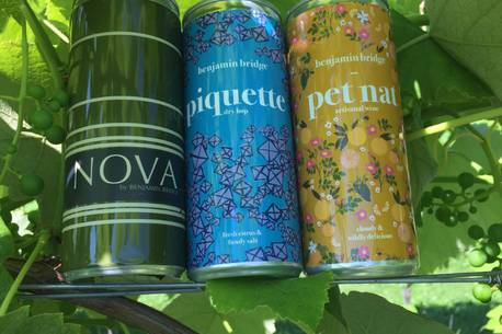 No Sneering, Top Wineries Are Putting Wine In Cans photo