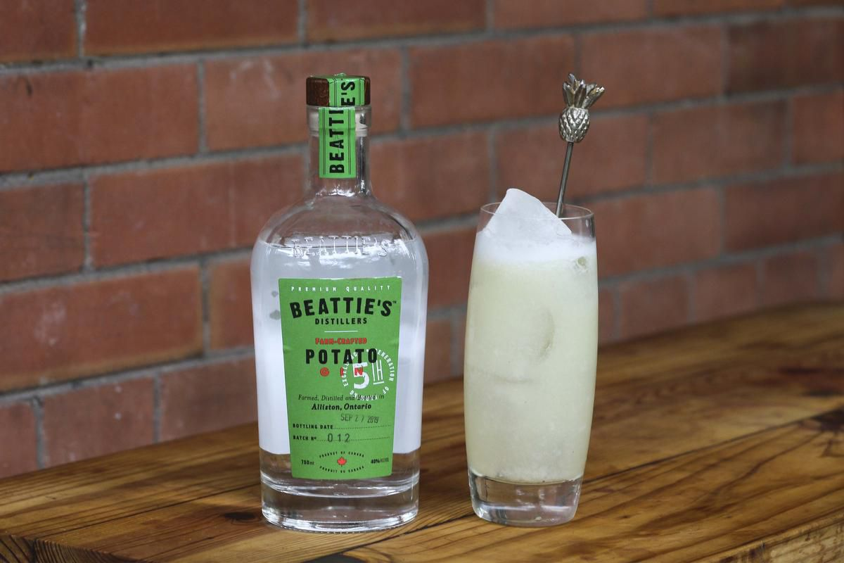 The Gin Fizz, With An Ontario Twist (and A Bonus Bartender Pro Tip) photo