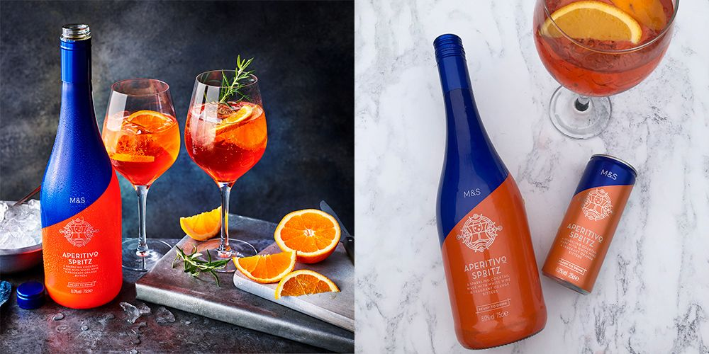 M&s Has Launched Aperol Spritz Cocktail Cans And We're Suddenly Very Thirsty photo