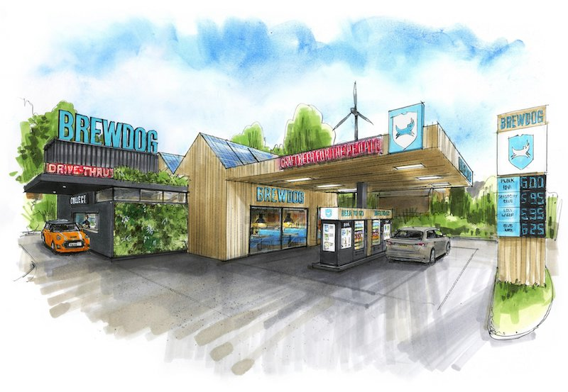Brewdog Opening Sustainable Drive-through Locations photo