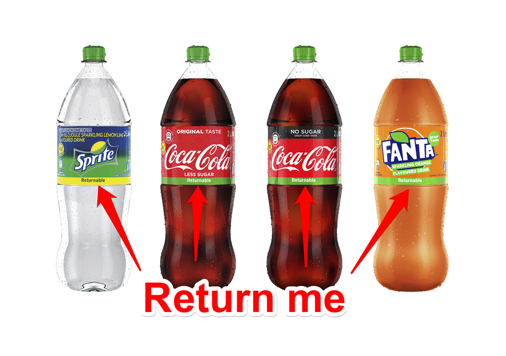 You Can Now Earn A Deposit On A Plastic Bottle Of Coke photo