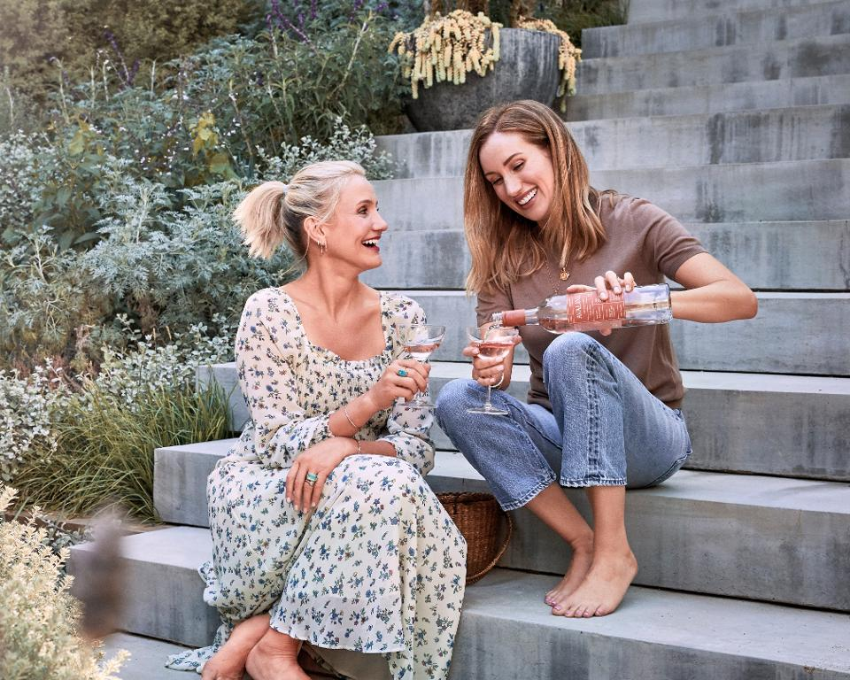 Actress Cameron Diaz Launches Organic Wine Range With Best Friend photo