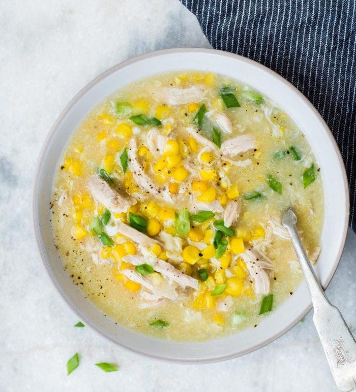 chicken corn 700x772 The Best Instant Pot Chicken Recipes
