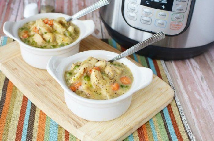 chicken dumplings 700x462 The Best Instant Pot Chicken Recipes