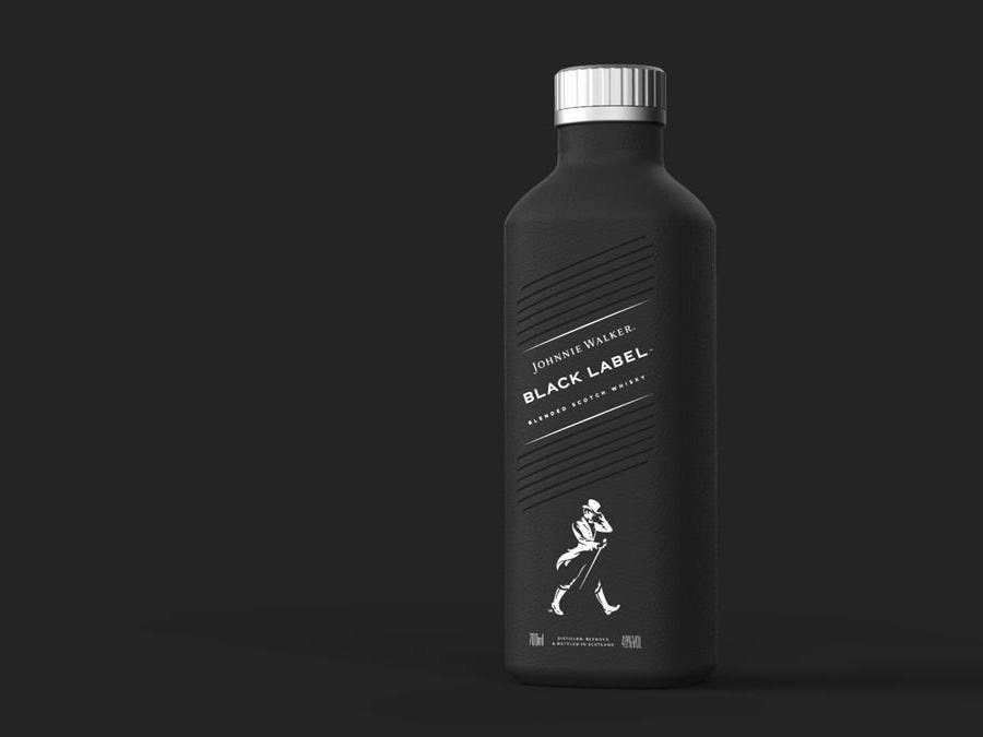 Johnnie Walker Is Launching A New Bottle That's Made Out Of Paper photo