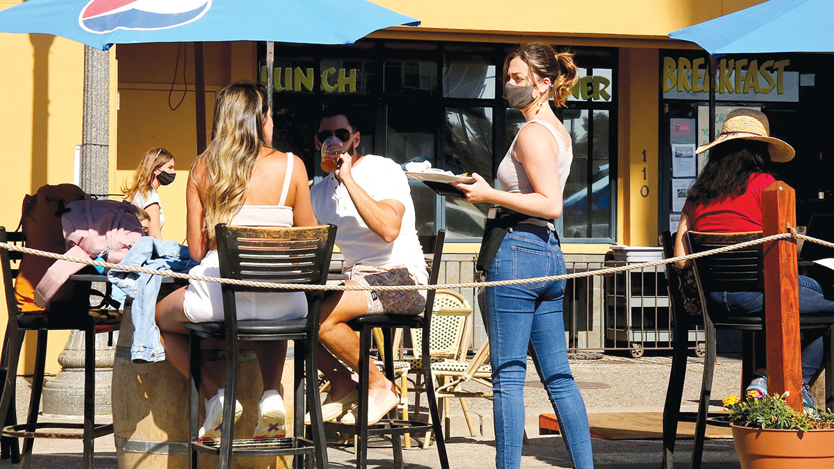 Restaurants And Wineries Embrace Sidewalk Cafe Culture photo