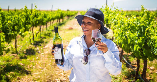 Ditsebe Serving Black Girl Wine Magic, One Glass At A Time photo