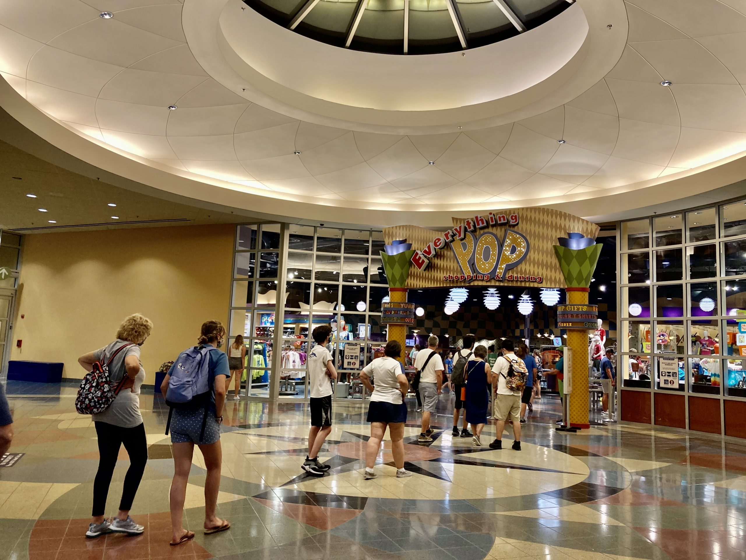Photos: Long Lines, Mobile Order Only, And Temporary Drink Refill System In Everything Pop Shopping & Dining At The Newly-reopened Disney's Pop Century Resort photo