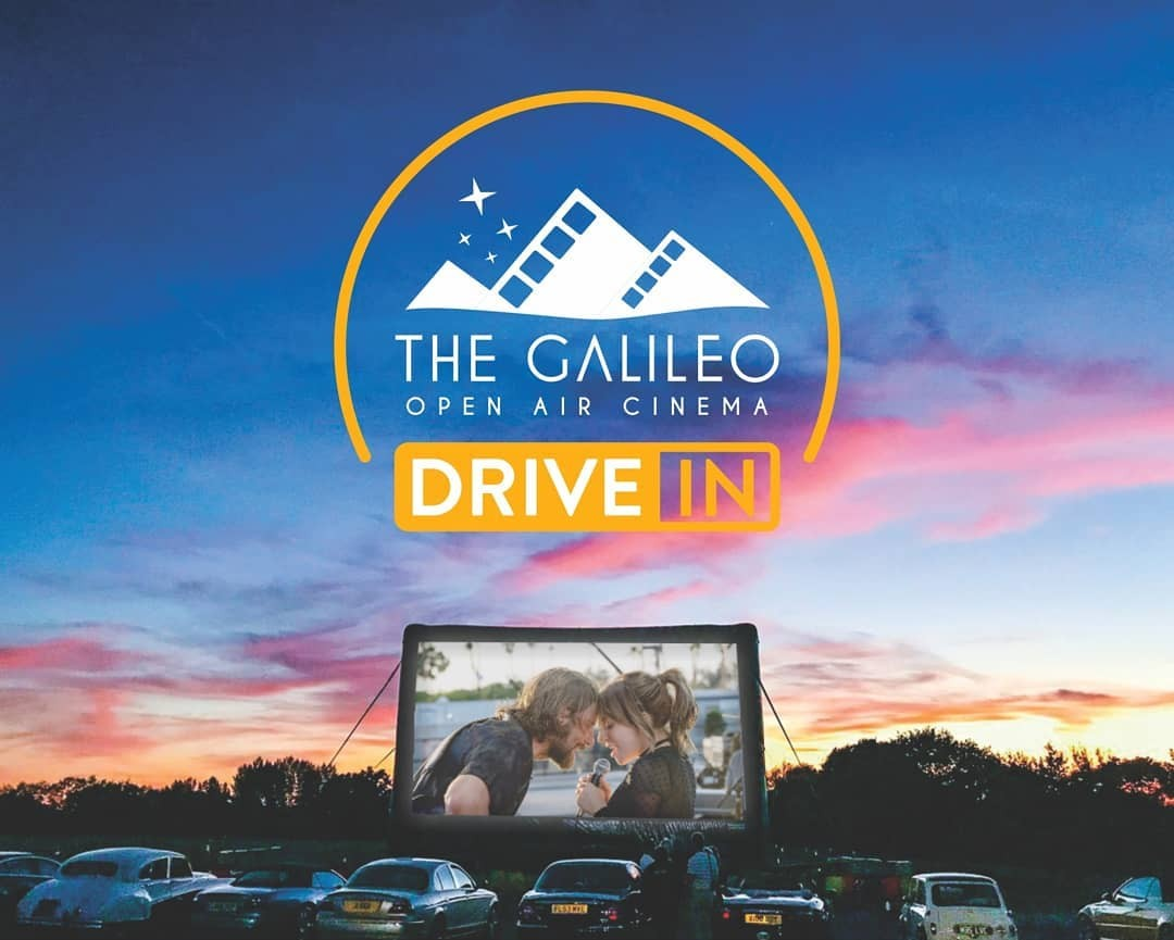 The Galileo Drive-in Invites You To Enjoy The Big Screen From The Comfort Of Your Car photo