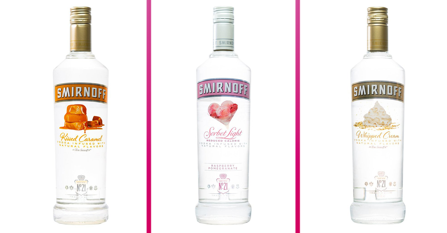 Smirnoff Launches New Range Of Vodkas That Sound Good Enough To Eat photo