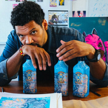 Bombay Sapphire Collaborates With Hebru Brantley On Limited Edition Bottle photo