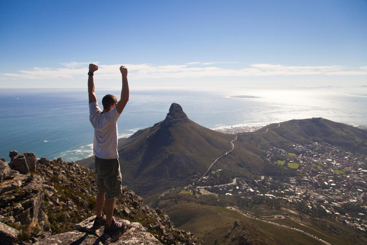 Table Mountain Aerial Cableway Opens Hiker Service photo