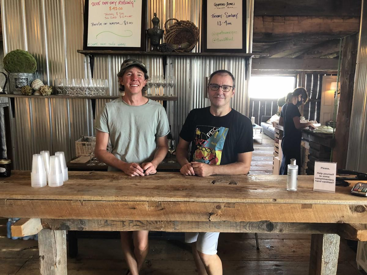 How A Man From Sweden And A Man From France Met Randomly Online And Opened A Winery In Prince Edward County photo