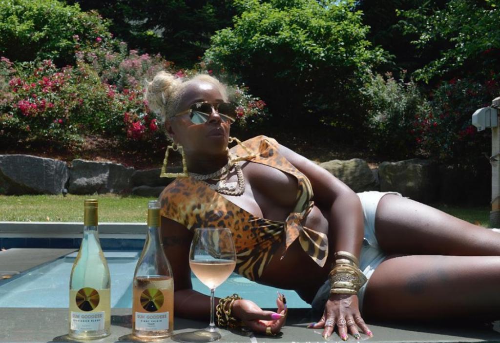 Singer Mary J. Blige Drops A Wine Range Called 'Sun Goddess' photo