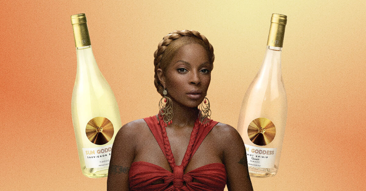 Mary J. Blige Debuts Her Own Wine Label 'sun Goddess' photo