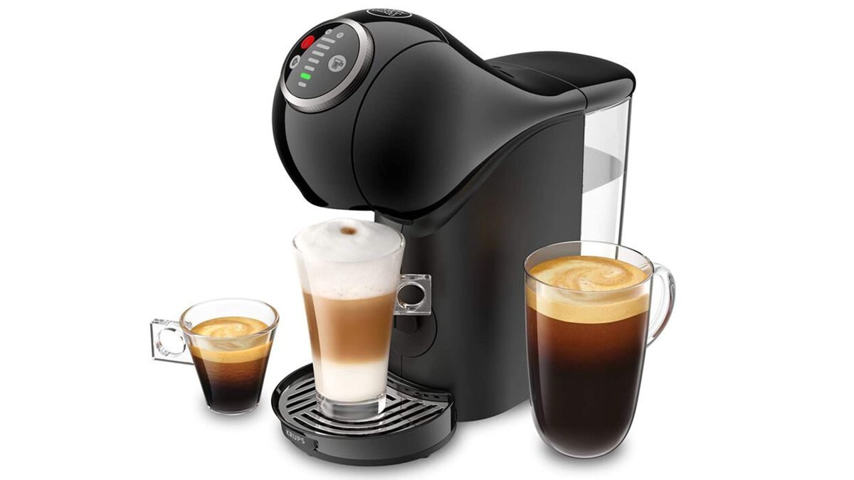 The Nescafe Dolce Gusto Genio Plus Coffee Machine Delivers Over 50 Different Hot Drinks Including Awesome Espressos photo