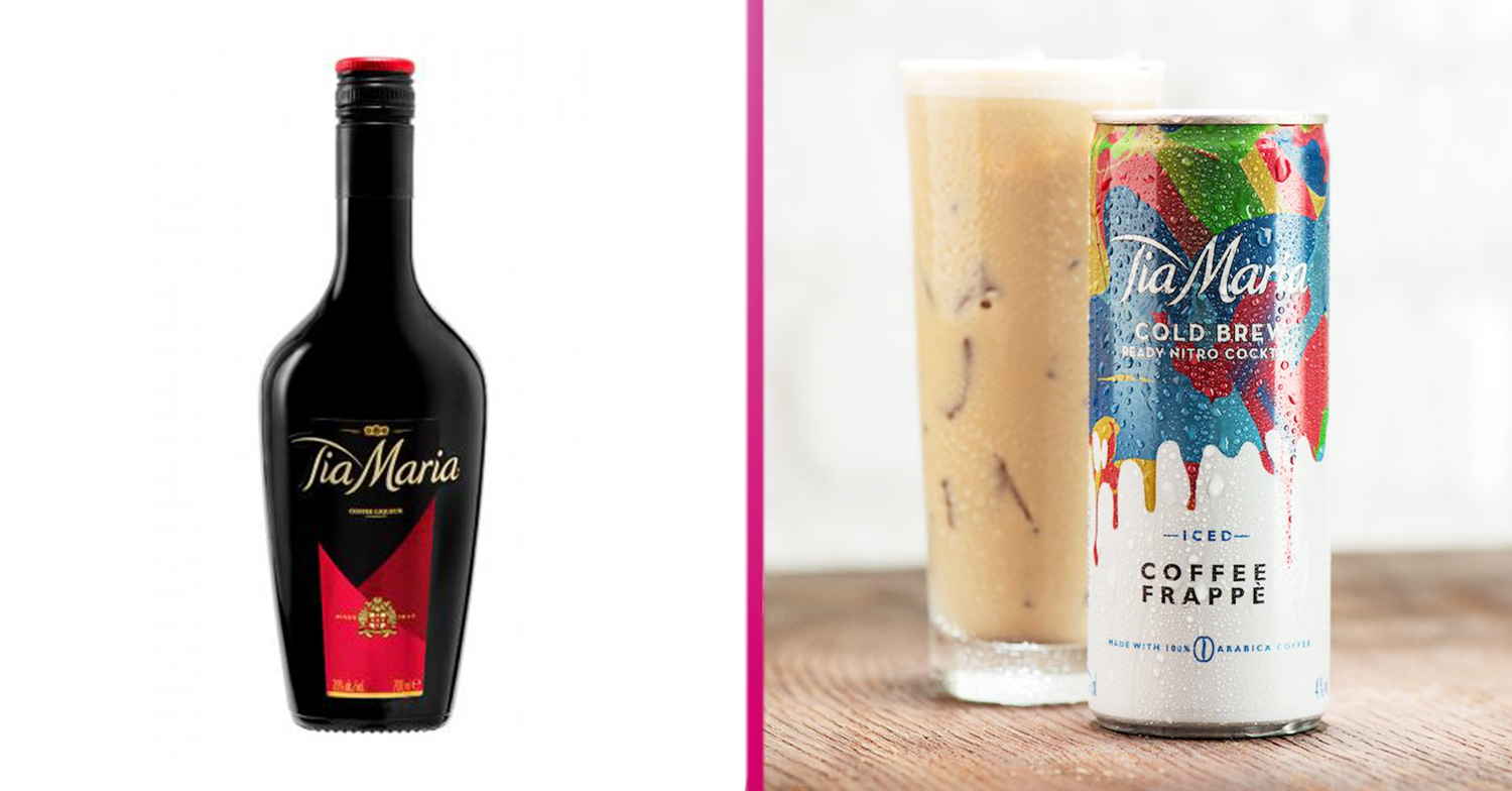 Tia Maria Launches Iced Coffee Frappe Cocktail In A Can At Sainsbury's photo