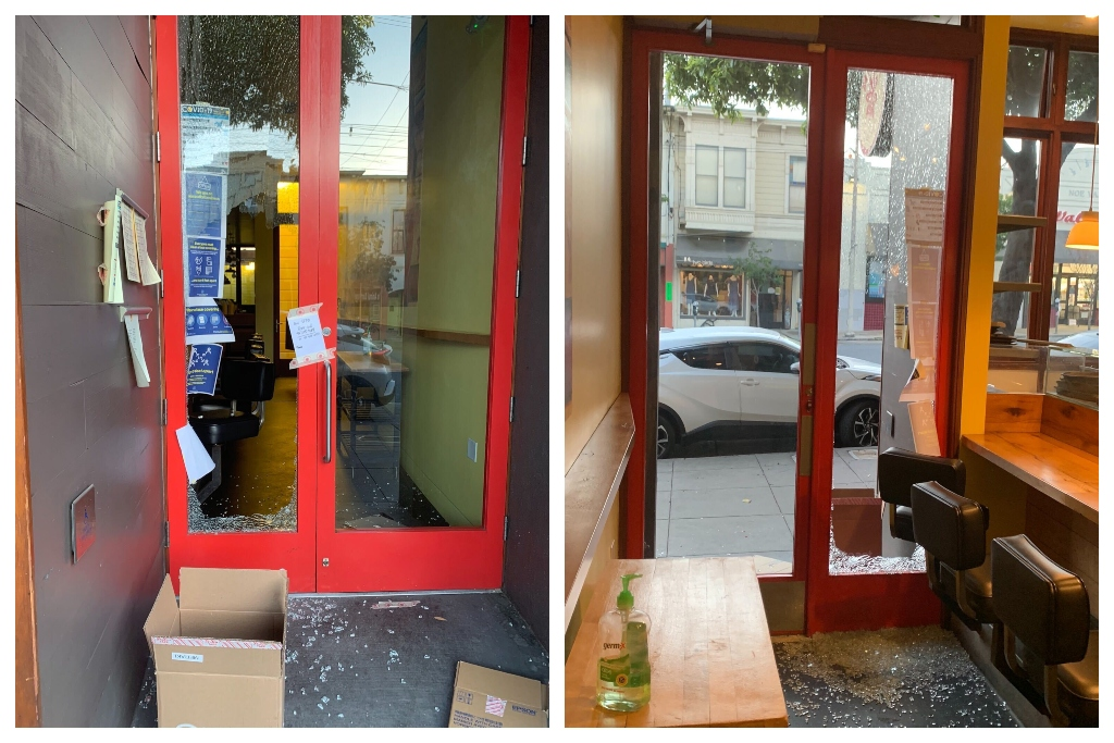 'i'm Not Broken Yet': Break-in Won't Stop Noe Valley Restaurant Owner photo