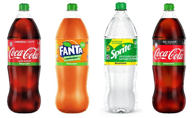 Coca-Cola Rolling Out Returnable 2L PET Bottles In Selective Provinces In South Africa photo