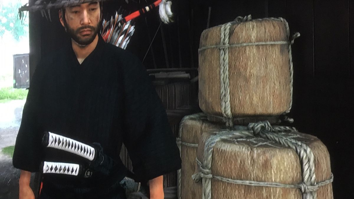 Let's Get Nerdy About Japanese Sake In Ghost Of Tsushima photo