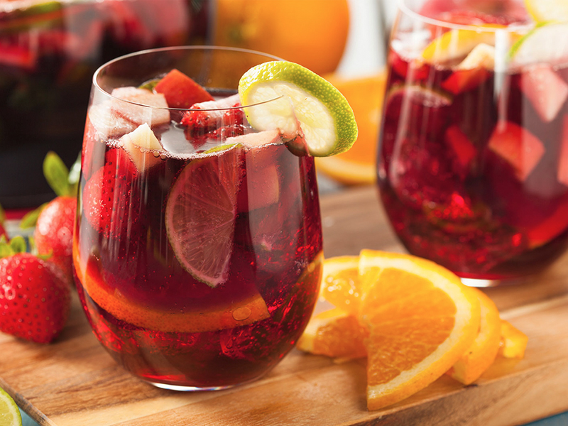 Summer Sangria Can Pop With Local Fruit Flavors photo