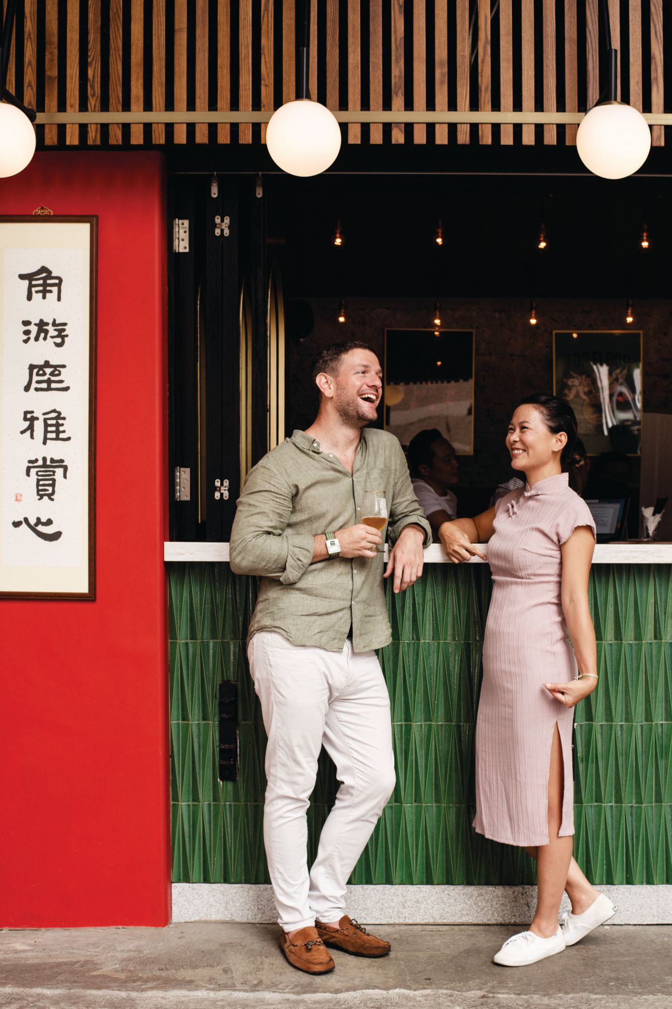 Laszlo And Michele Raphael On Opening Their First Bar Moonkok And The Best Places To Eat And Drink In Kowloon photo