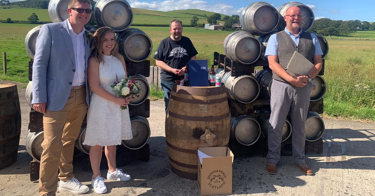 Broughton Brewery Steps In To Help Couple On Wedding Day After Venue Cancels photo