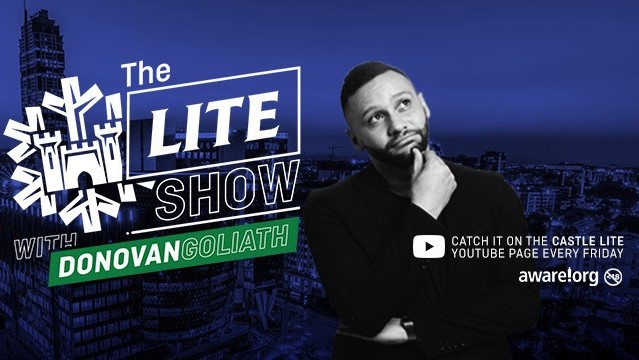 Castle Lite And Donovan Goliath Launch Youtube News Talk Show photo