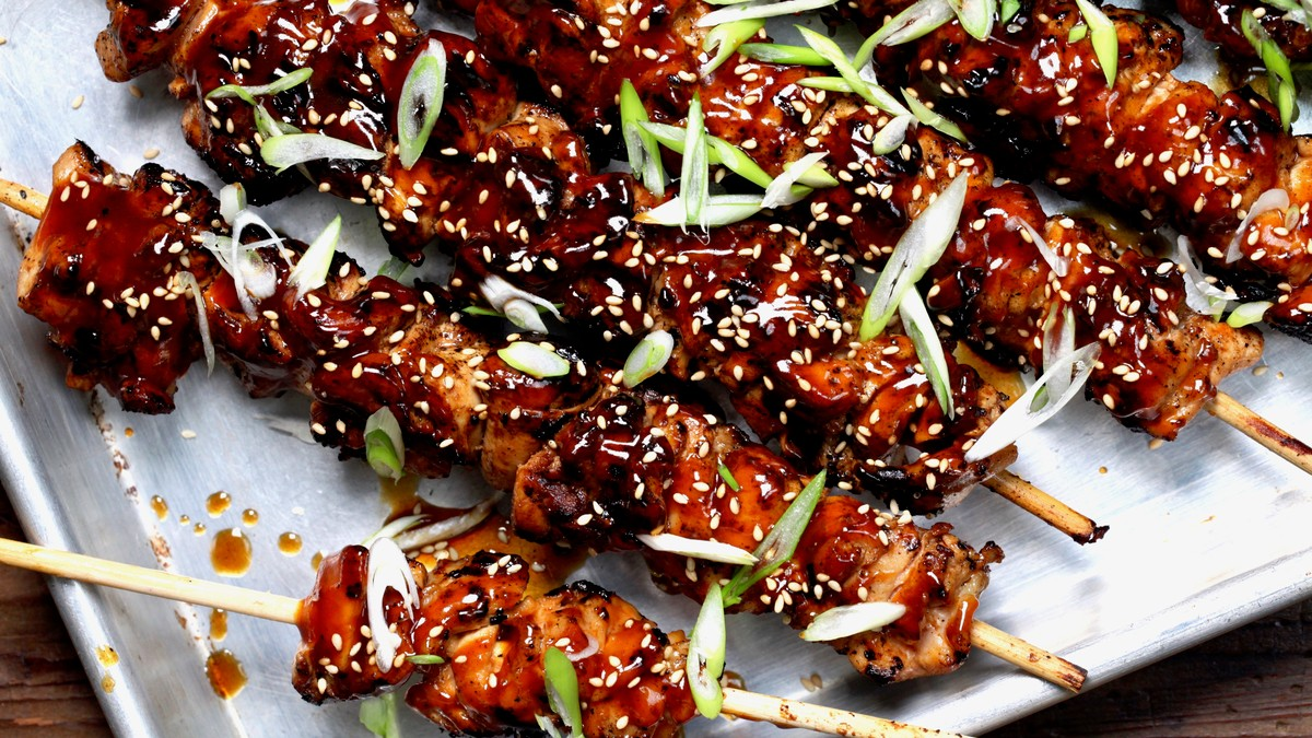 11 Recipes For Meat On A Stick photo