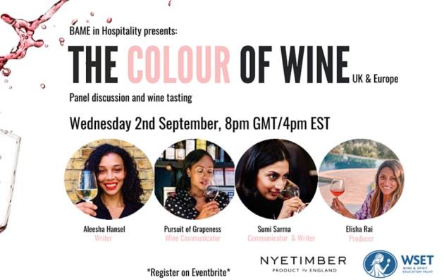 Adding Colour To Wine photo