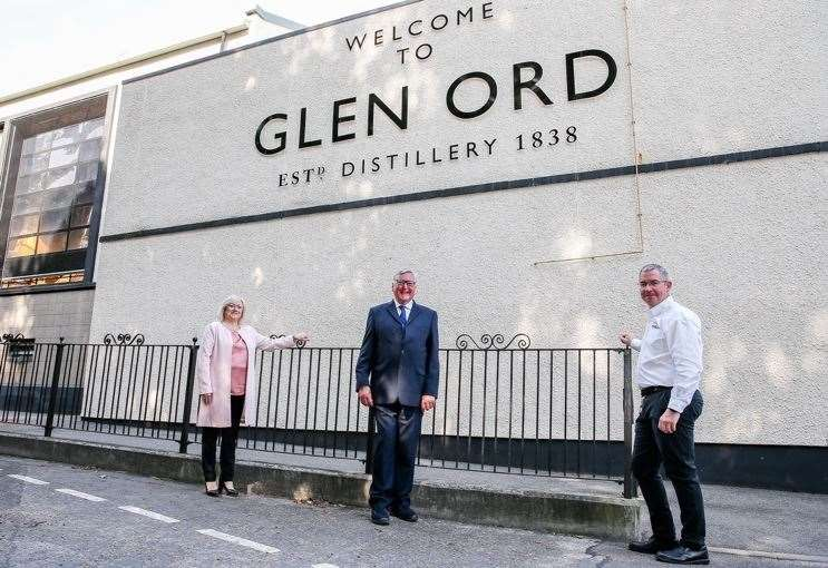 Glen Ord Distillery In Muir Of Ord Welcomes Reopening Of Major Attraction photo