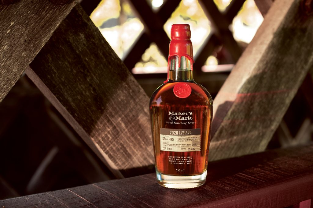 The 2020 Maker's Mark Wood Finishing Series Release Is Distillery's First Foray Into Blending photo