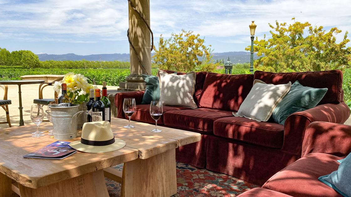 Wine Notes: A New Lounge At Inglenook photo