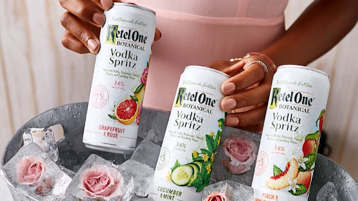 Exclusive: Ketel One Botanicals Says New Vodka Spritz Will Offer 'bar-worthy' Cocktail At Home photo