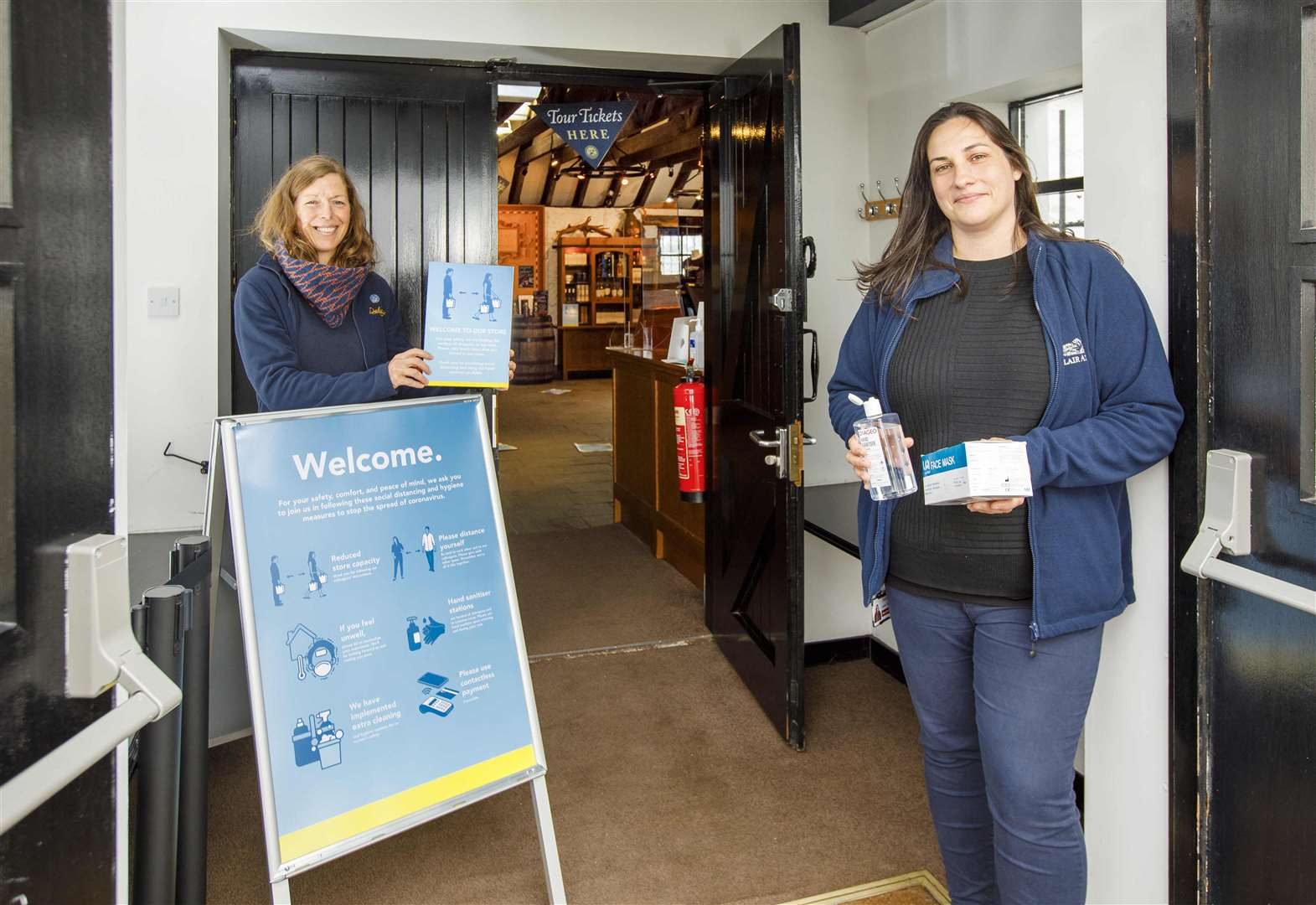 Dalwhinnie Distillery Welcomes Back Visitors photo