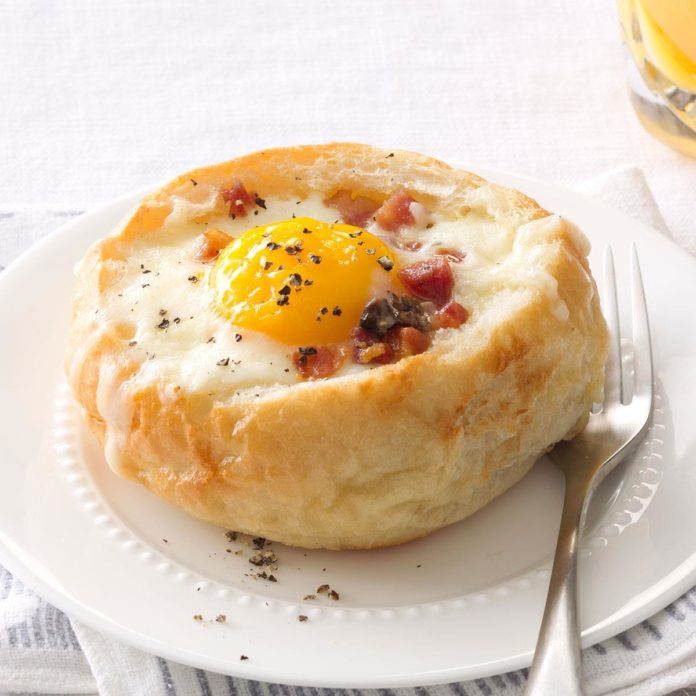 Breakfast Bread Bowls photo