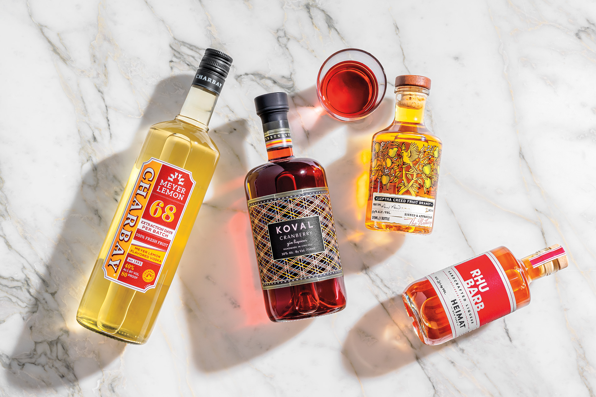 Four Flavored Spirits Showcasing The Best Of Local Produce photo