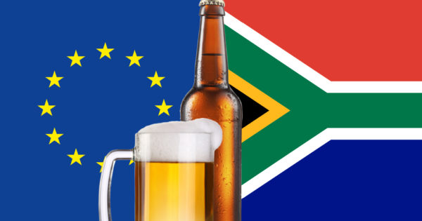 Breaking: South African Booze Ban Now Threatens Eu Trade Deal photo