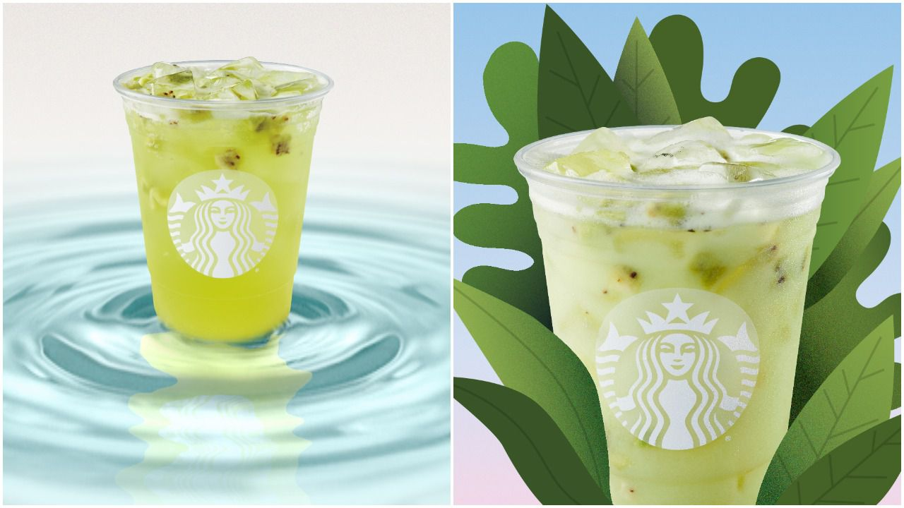 Starbucks Celebrates Summer With 2 New Green Drinks photo