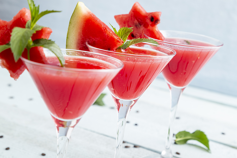 This Watermelon Gin Martini Makes Every Day Taste Like Summer photo