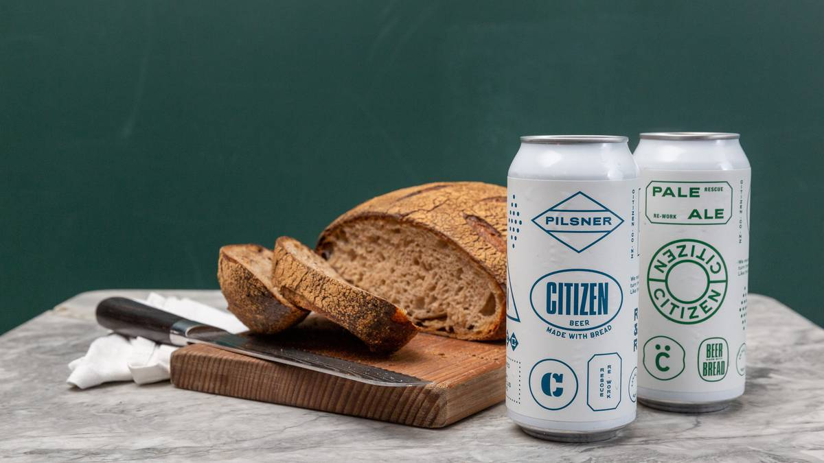 Citizen Food Recycle Business Taking Supermarket Bread To Make Beer photo
