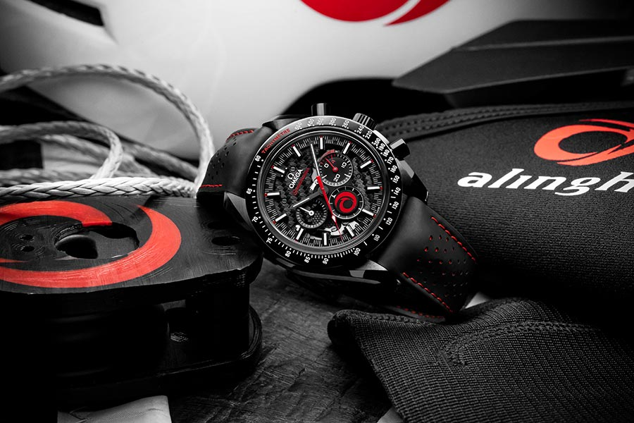Omega And Alinghi Celebrate Their Partnership With A Brand New Speedmaster photo