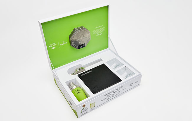 Patrón Unveils A Smart Coaster That Teaches Drinkers How To Make A Margarita Cocktail photo